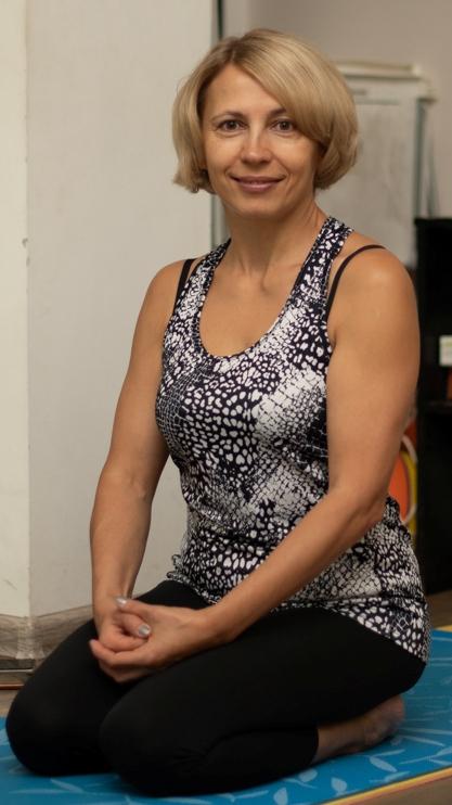 Лия Волова, йогатерапевт. методист ЛФК, организатор сети групп йогатерапии в Москве SmartYoga, ведущая ЗОЖ-тренингов